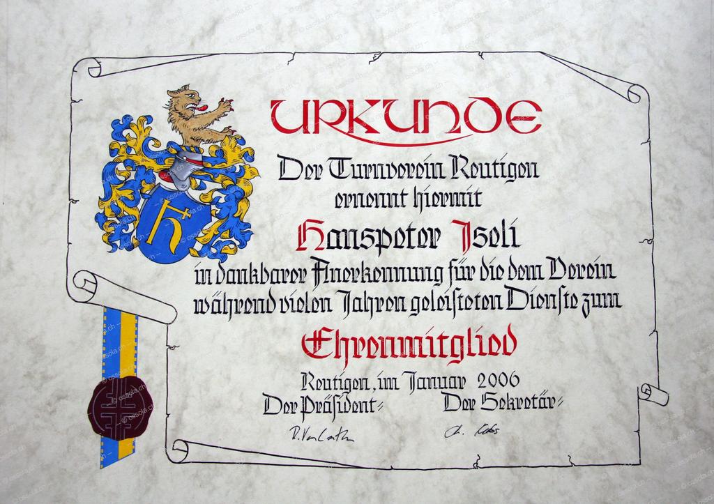 Urkunde100